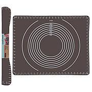 Силиконовый коврик с антипригарным покрытием, 50 х 40 см, коричневый