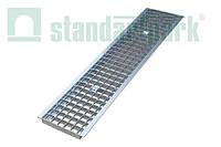 Дренажная решетка DN200 Стальная ячеистая оцинкованная StandartPark