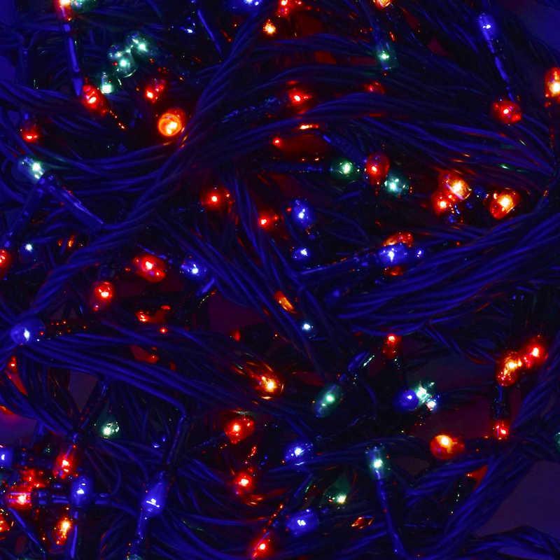 Гирлянда светодиодная С 31323 (100) 100 лампочек, длина 8.5 метра, мультиколор