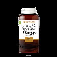 Спирулина + кордицепс (spirulina + cordyceps) 375 таб Diet Food