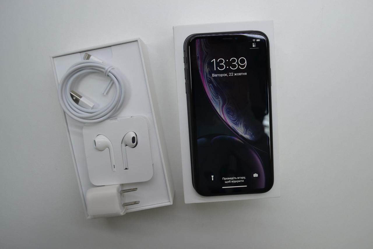 Apple Iphone XR 128Gb Black Neverlock Оригинал!