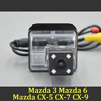 Камера заднего вида (Sony CCD) для Mazda 3 2004 2005 2006 2007/ Mazda 6 2002 2003-2008 CX-5 CX-7 CX-9, фото 1