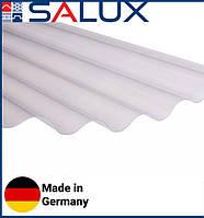 Прозрачный ПВХ лист Salux WHR 76/18 Дымчатая Волна 1,8х0,9, фото 1