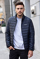 Мужская куртка осенняя Sun's House Life рост: 194 размер: 52 Синий (арт. C-010)