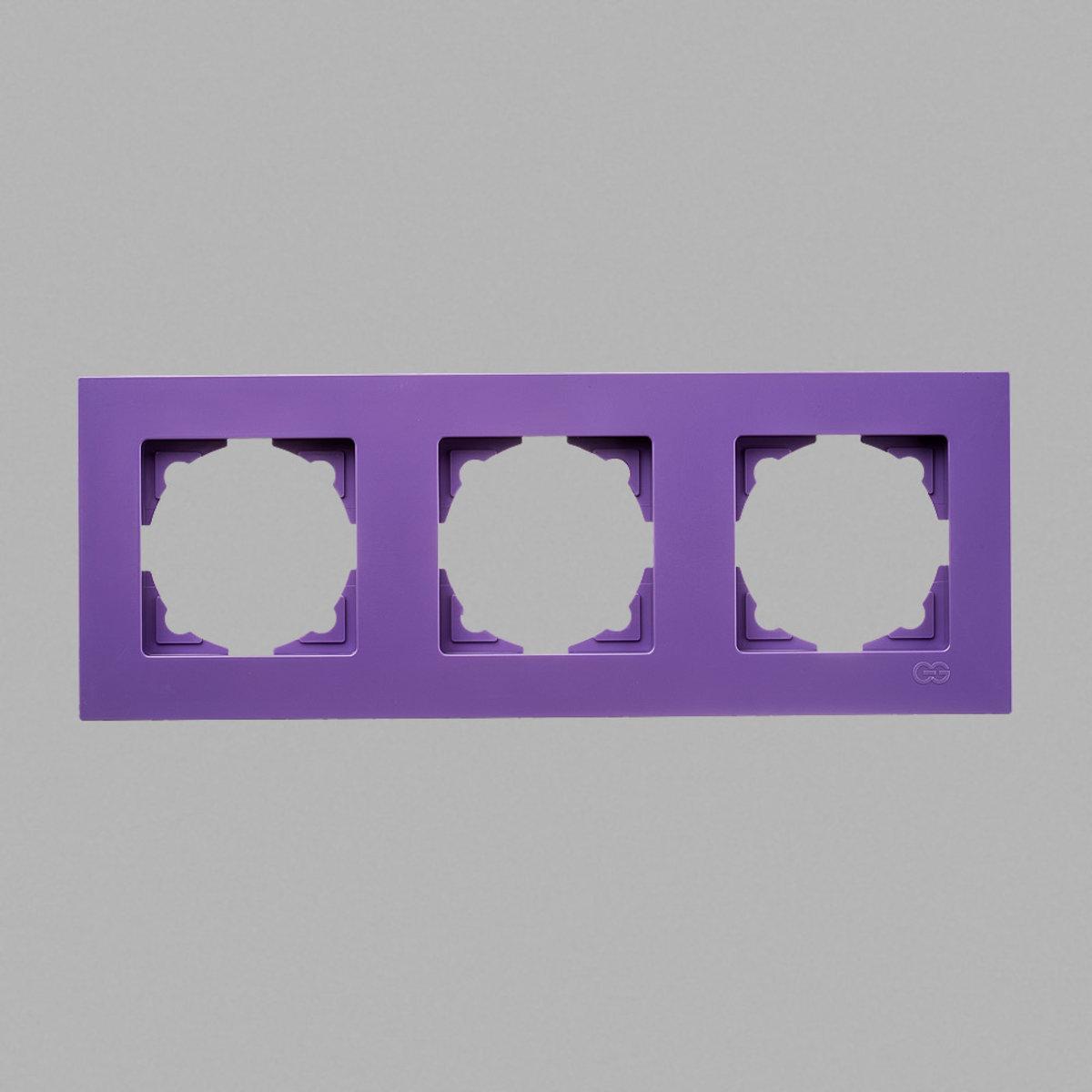 Eqona рамка 3-ая лиловая