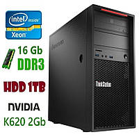 P300 Рабочая станция Lenovo ThinkStation E3-1225v3/DDR3 16Gb/1Tb/Nvidia Quadro K620 2Gb