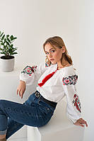 Вышиванки женские  блуза - Жар Птица