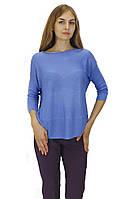 Джемпер Fransa голубой с укороченным рукавом