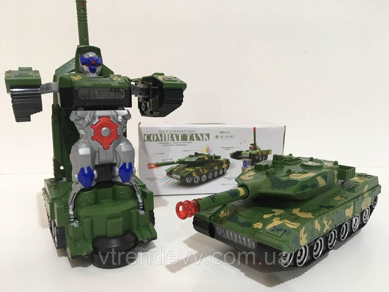 Танк трансформер Robot YJ388-44