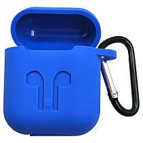 9 кольорів Футляр для навушників AirPods Full Case / Футляр для наушников AirPods Full Case Синій