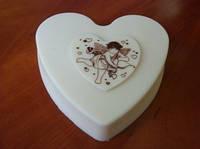 Шоколадное сердце — шикарный подарок для влюбленных