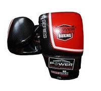 Перчатки снарядные Power System PS 5003 Bag Gloves Storm S Black/Red, фото 1