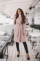 Плотное весеннее кашемировое пальто на подкладке  размеры 42-54  арт 1139/1