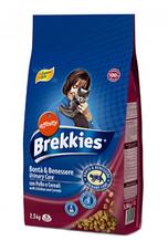 Корм BREKKIES (Бреккис) Cat Urinary Care для взрослых котов профилактика мочекаменной болезни (курица), 1,5 кг