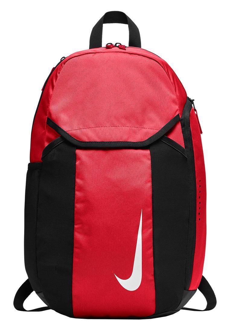 Рюкзак спортивний Nike Team Club BA5501-657 з відділенням для взуття червоно-чорний (Оригінал)