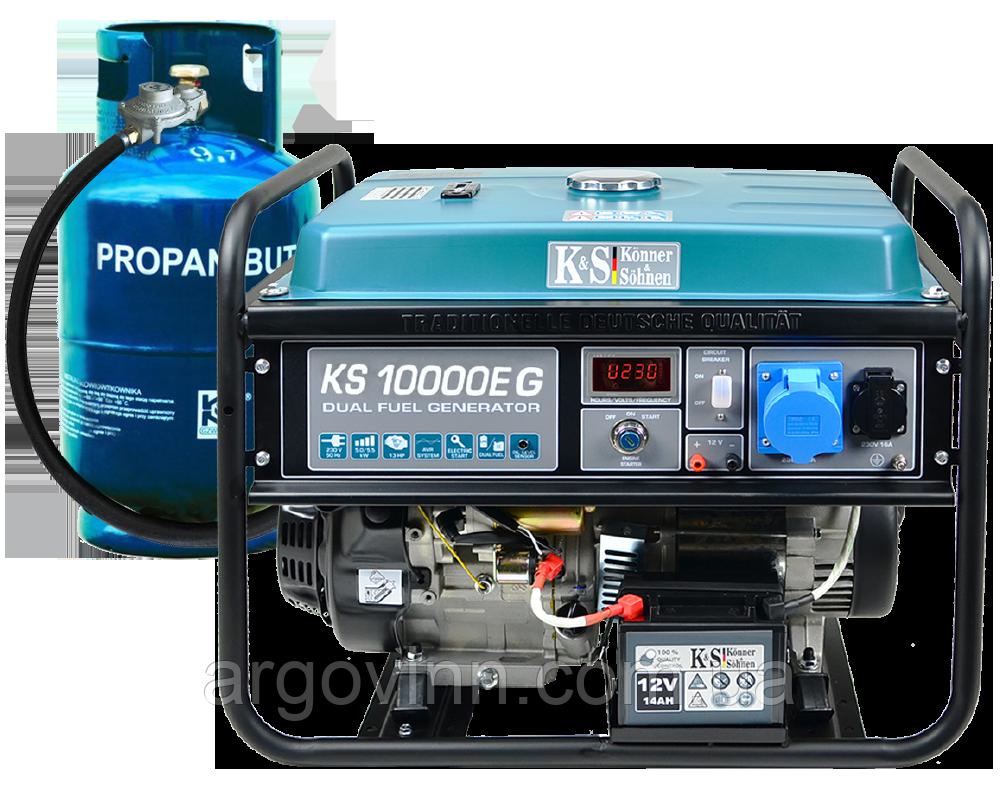 Бензиновий генератор  Könner&Söhnen KS 10000E-3