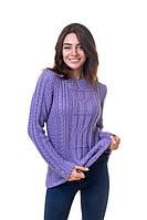 Объемный свитер с косами в размере 44,46,48, фото 1