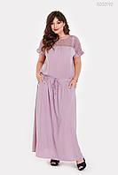 Платье Верона (сиреневый) 1027629193