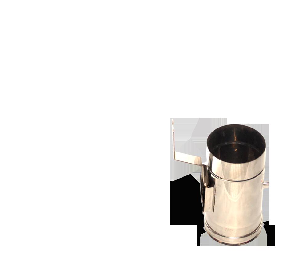 Версия-Люкс (Кривой-Рог) Регулятор тяги из нержавейки 0,5 мм, диаметр 130мм