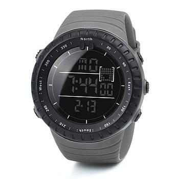 Спортивные наручные мужские часы DISU серые