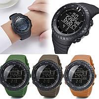 Спортивные наручные мужские часы DISU зеленые, фото 2