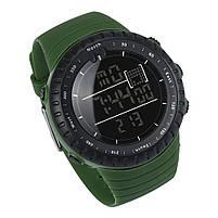 Спортивные наручные мужские часы DISU зеленые, фото 3