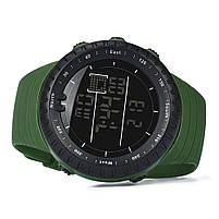 Спортивные наручные мужские часы DISU зеленые, фото 4