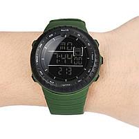 Спортивные наручные мужские часы DISU зеленые, фото 5