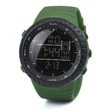 Спортивные наручные мужские часы DISU зеленые