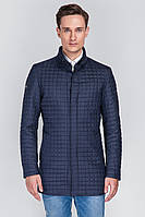 Мужская тёплая зимняя куртка Sun's House Monaco рост: 176 размер: 48 Синий (арт. C-040)