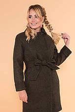 Пальто жіноче зимове Пріора 5835, фото 3