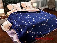 """Семейный набор хлопкового постельного белья из Бязи """"Gold"""" №154135AB Черешенка™"""