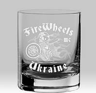 Именной стакан для виски с гравировкой вашего логотипа