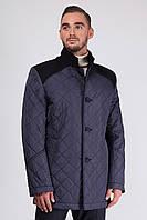Мужская осенняя тёплая куртка Sun's House Chelsea рост: 176 размер: 58 Синий (арт. C-312)