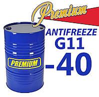 Антифриз G11 TM Premium Blue (синий) 200 л