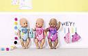 Беби Борн Кукла Очаровательная малышка мулатка Нежные объятия 43 см Baby Born Zapf 824382, фото 8