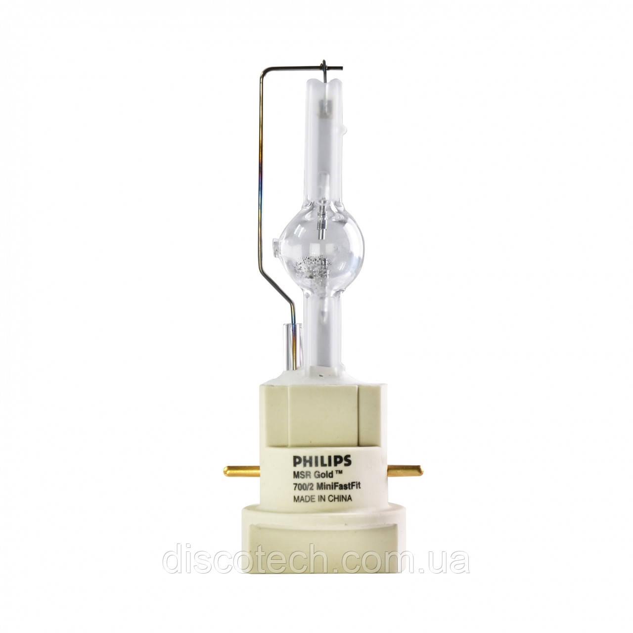 Лампа PHILIPS MSR Gold 700/2 MiniFastFit PGJx28 7200K 750 h