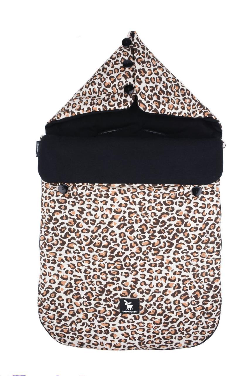 Универсальный конверт в коляску и автокресло Cottonmoose Pooh 330/79/109 pantera cotton black cotton jersey