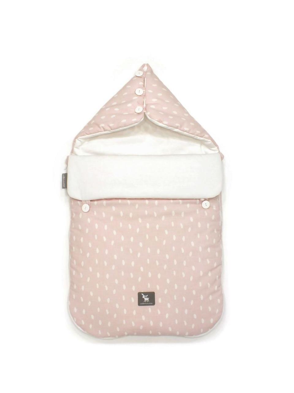 Универсальный конверт в коляску и автокресло Cottonmoose Pooh 330/132/51 rain pink cotton white cotton jersey