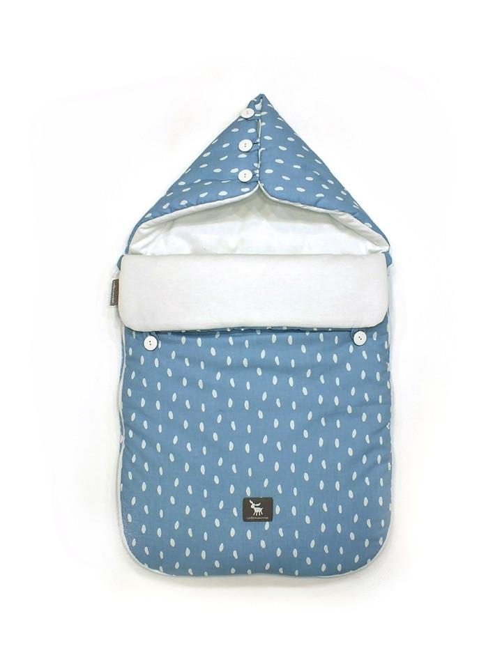 Универсальный конверт в коляску и автокресло Cottonmoose Pooh 330/131/51 rain azure cotton white cotton jersey