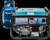 Газобензиновий генератор KS 10000E G, фото 1