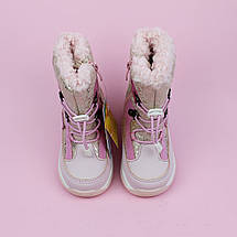 Термо сапоги детские девочке Пудра тм Том.м размер 24,26, фото 3
