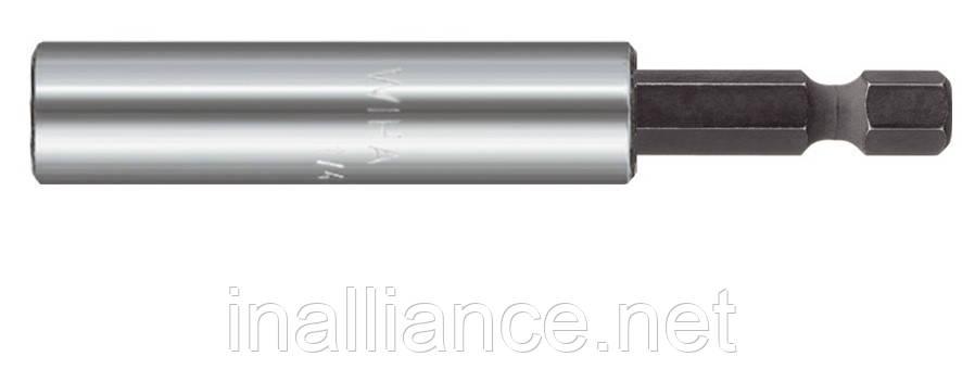 Універсальний бітотримач 100 мм магнітний стопорне кільце пружинне форма E 6,3 Wiha 36092