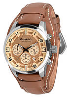 Часы мужские Guardo S01740-2 серебристые