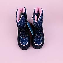 Зимние термо сапоги на девочку Синие тм Том.м размер 27,28,29,30,31,32, фото 2
