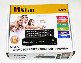 Цифровая приставка тюнер T2 MSTAR 5673 12/220V