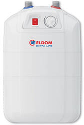 Водонагрівач ELDOM Extra Life 7 літрів під мийкою/ 1,5 кВт/ ТЕН мокрий/ 285х288х340/ Болгарія