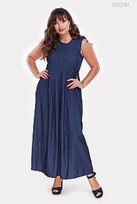 Платье Шарлотт (синий) 1027629675
