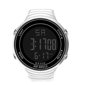 Спортивные наручные мужские часы XIAO белые