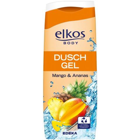 Гель для душа Elkos с экстрактом манго и ананаса 300 мл. Элкос пр. Германия 01194